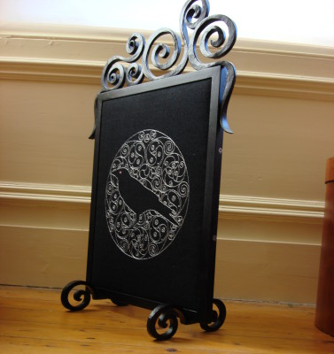 Kate's Crow fire screen